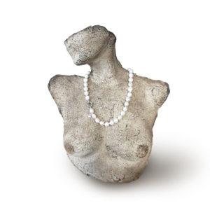 Classic Baroque Pearl Necklace | Lullu Luxury Pearl Jewellery