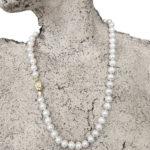 Japanese Saltwater Akoya Guardian Eye Necklace | Lullu Pearl Jewellery