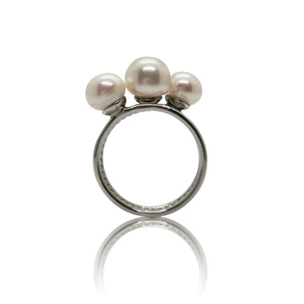 Falling Star Pearl Ring   Lullu Luxury Pearl Jewellery South Africa