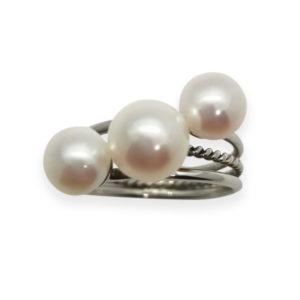 Falling Star Pearl Ring | Lullu Luxury Pearl Jewellery South Africa