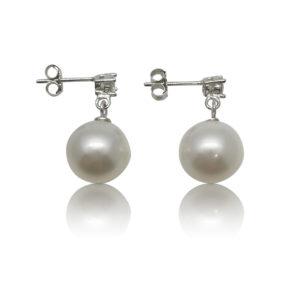 Bridal Star Earrings | Lullu Luxury Pearl Jewellery South Africa