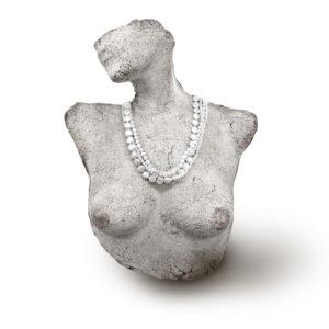 Plutus Multi-Strand Pearl Necklace