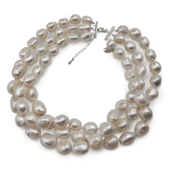 Lush Pearl Choker   Lullu Luxury Pearl Jewellery